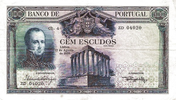 Portugal 100 Escudos (1927-1930)