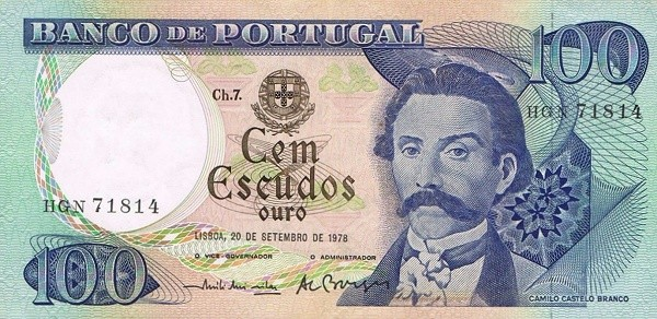 Portugal 100 Escudos (1964-1979)