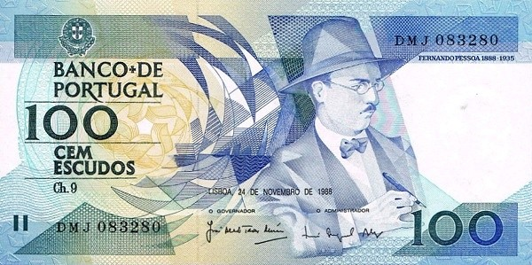 Portugal 100 Escudos (1986-1994)