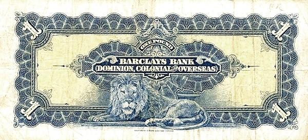 Rhodesia 1 Pound (1926-1937)