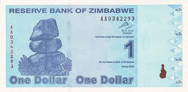 Zimbabwe 1 Dollar (2009)
