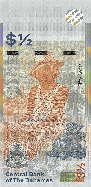 Bahamas $1/2 Dollar (2019)