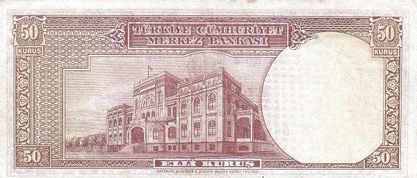 Turkey 50 Kurus (1940-1944)