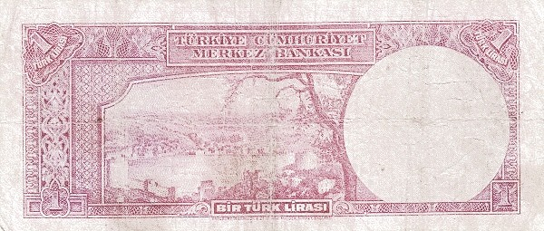 Turkey 1 Lirasi (1940-1944)