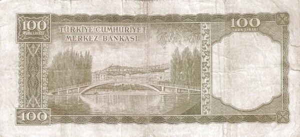 Turkey 100 Lirasi (1951-1965)