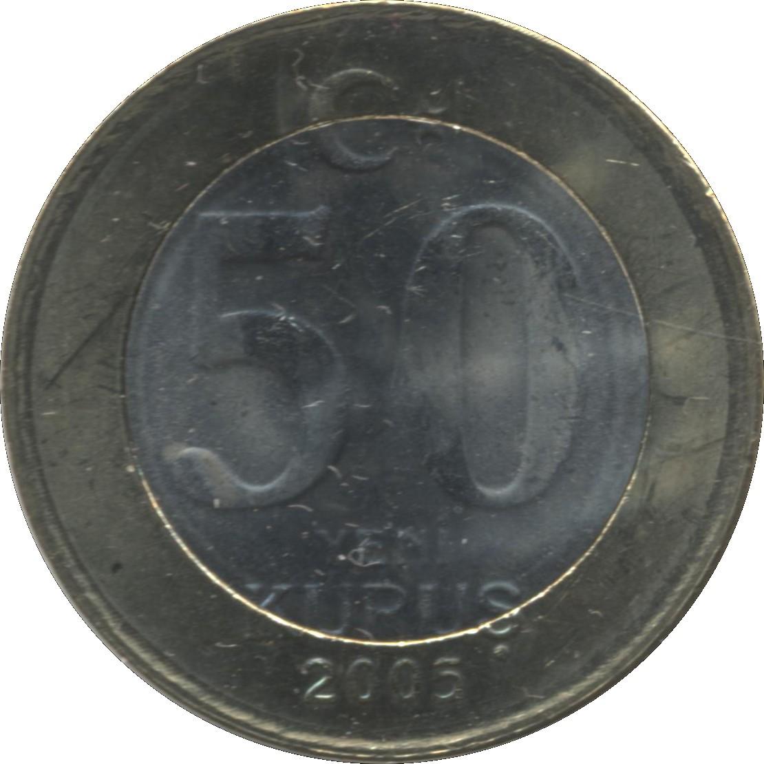 Turkey 50 Yeni Kurus