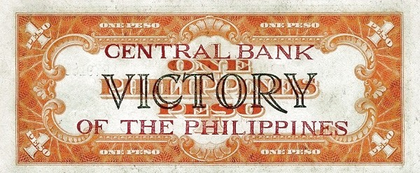 Philippines 1 Peso (Central Bank of the Philippines / VICTORY 1949)