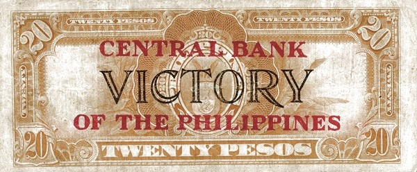 Philippines 20 Pesos (Central Bank of the Philippines / VICTORY 1949)