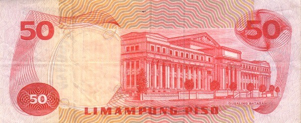 Philippines 50 Piso (Centennial Birth President Osmeña 1978)