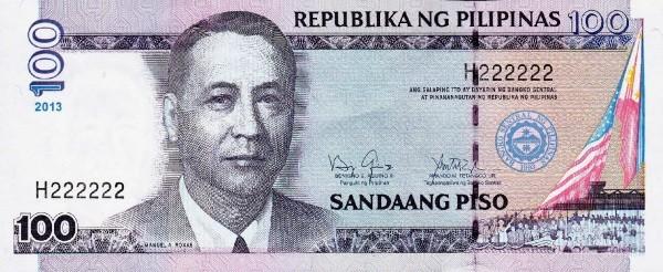 Philippines 100 Piso (2001-2013)