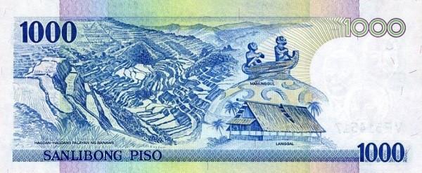 Philippines 1000 Piso (2001-2013)