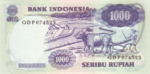 Indonesia 1000 Rupiah (1975)