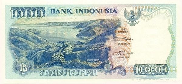 Indonesia 1000 Rupiah (1992-2001)