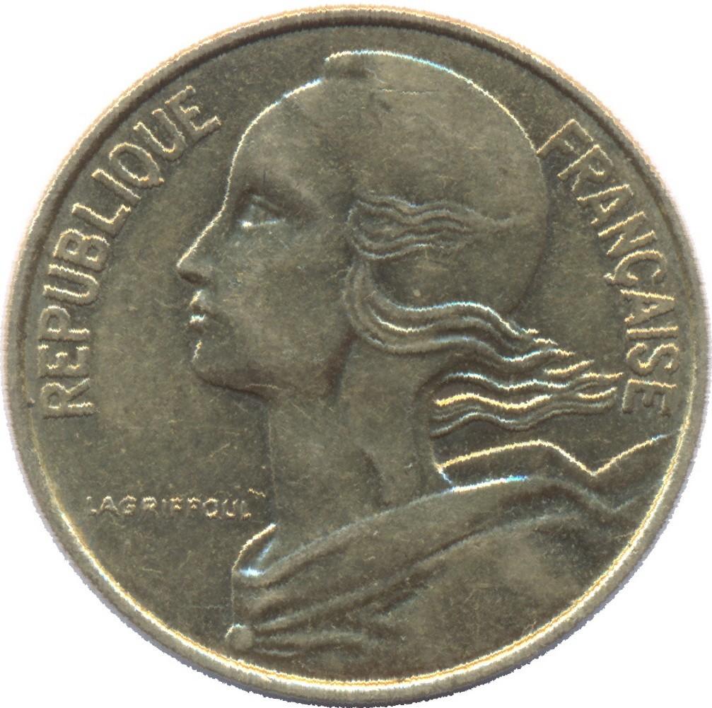 France 10 Centimes (1962-2001)