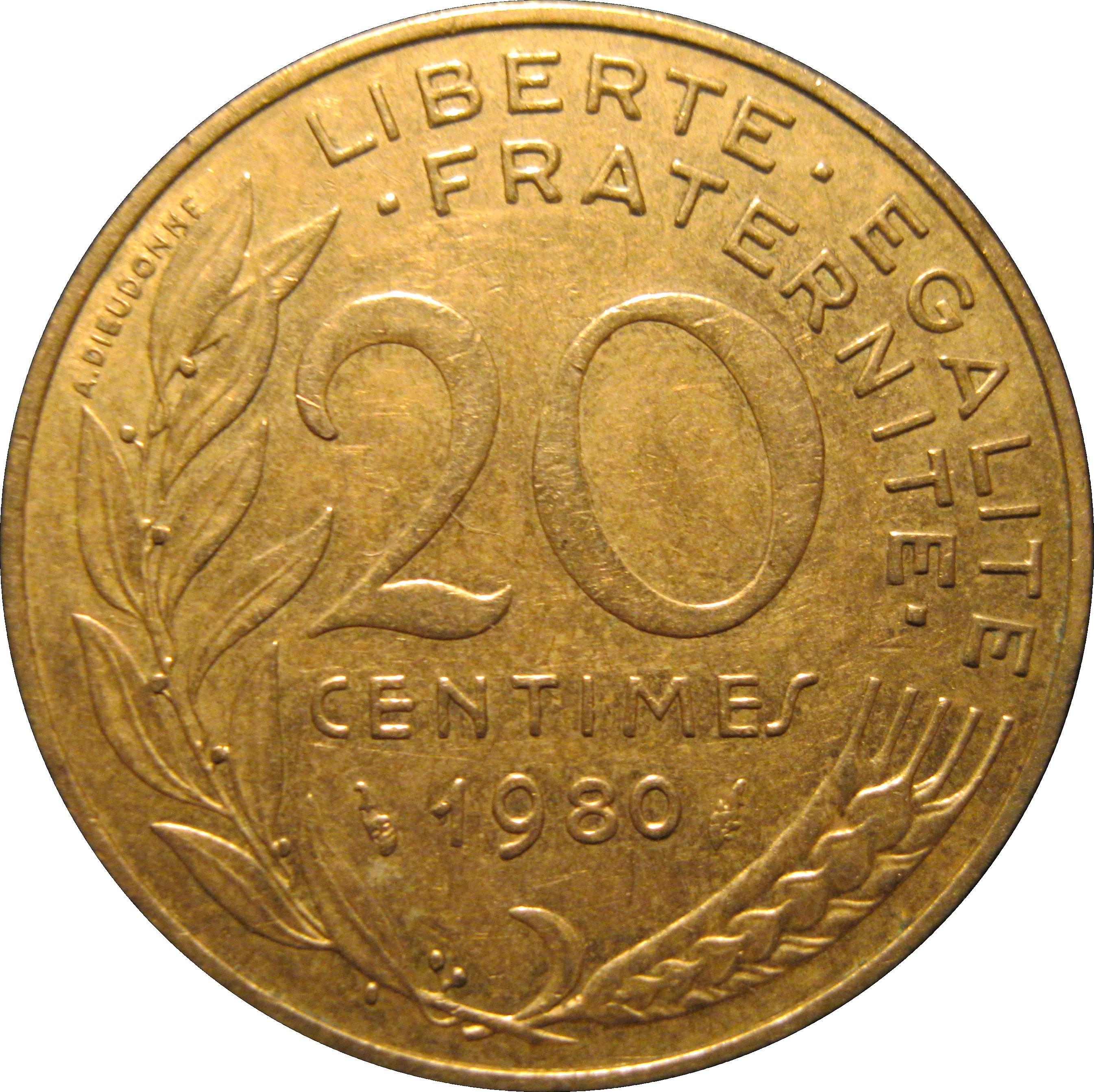 France 20 Centimes (1962-2001)