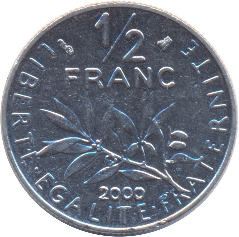 France ½ Franc (1964-2001)