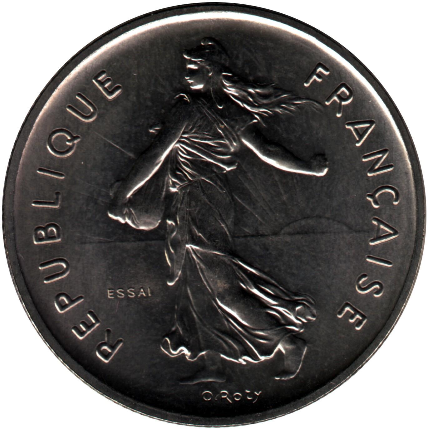 France 5 Francs (1970-2001)