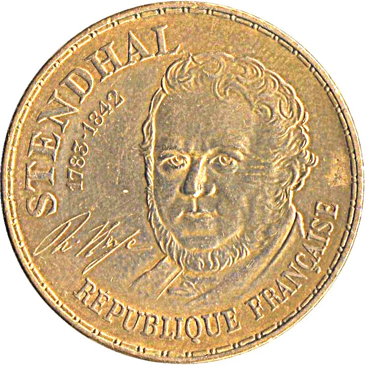France 10 Francs (1983 Stendhal Commemorative Coin)