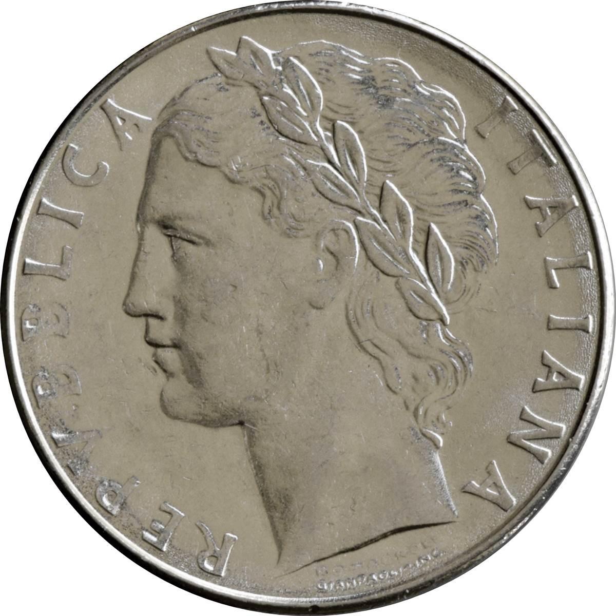 Italy 100 Lire (1955-1989 Large Type)