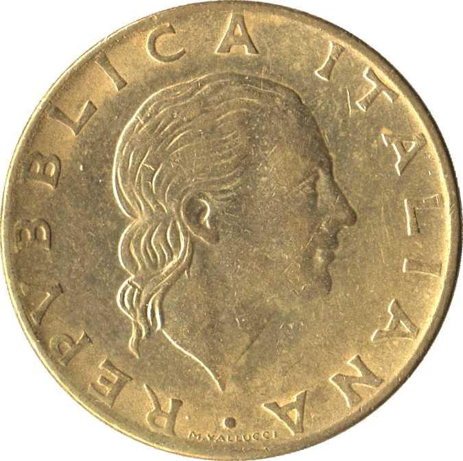 Italy 200 Lire (1977-2001)