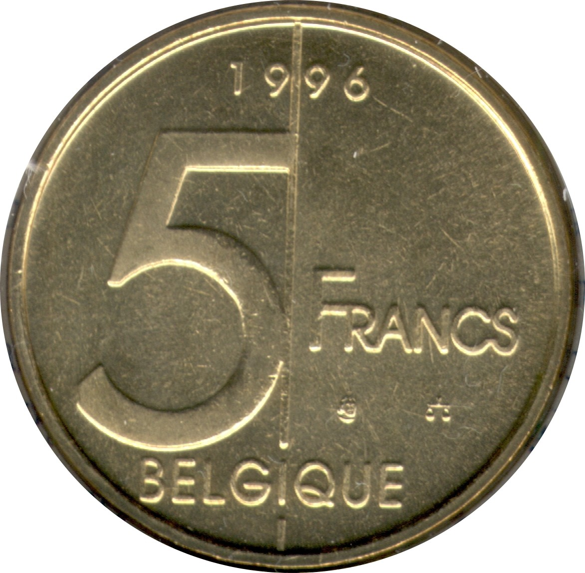 Belgium 5 Francs (1994-2001 Albert II)