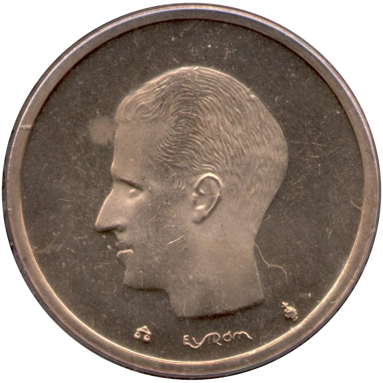 Belgium 20 Francs (1980-1993 Baudouin I)
