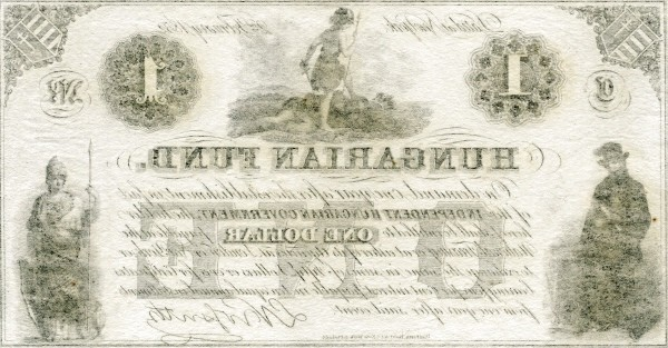 Hungary 1 Dollar (1852 Insurrection, Foreign Issues & Sieges)
