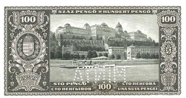 Hungary 100 Pengő (1926-1927 MAGYAR NEMZETI BANK)