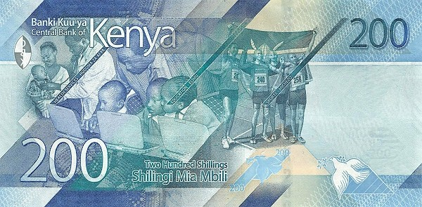 Kenya 200 Shillings (Social Services) 2019