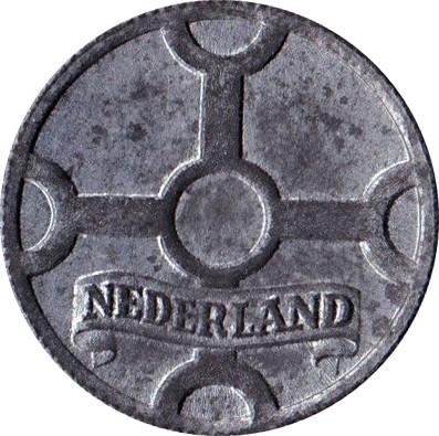 Netherlands 1 Cent  (1941-1944 Wilhelmina)