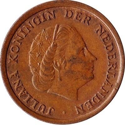 Netherlands 1 Cent  (1950-1980 Juliana)