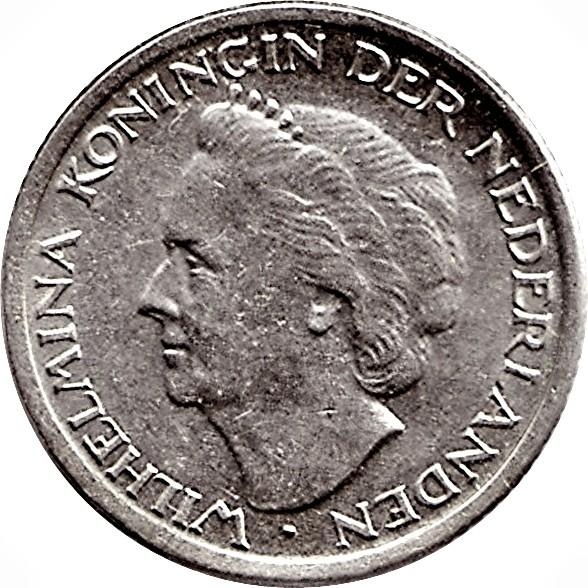 Netherlands 10 Cents (1948 Wilhelmina)