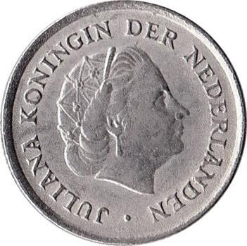 Netherlands 10 Cents (1950-1980 Juliana)