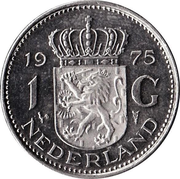 Netherlands 1 Gulden (1967-1980 Juliana)