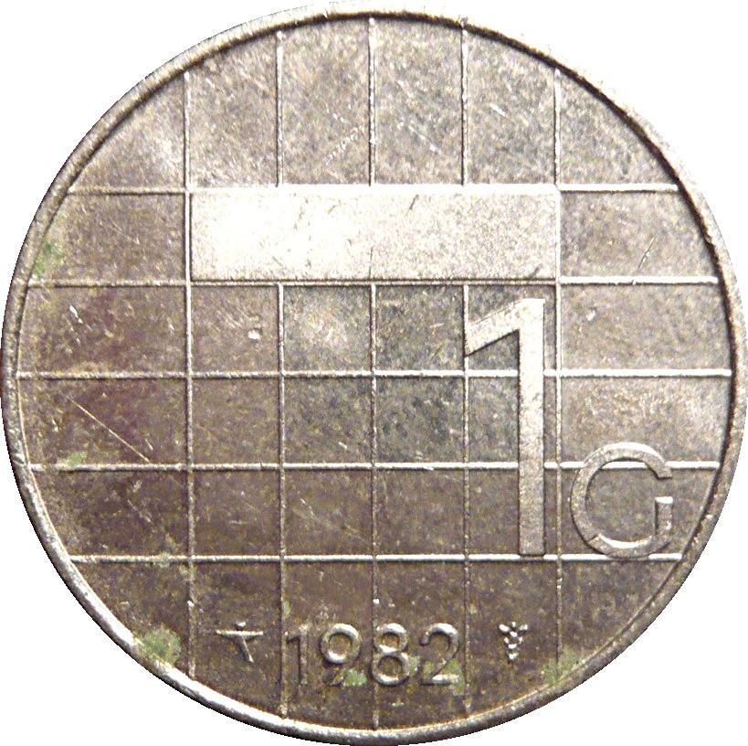 Netherlands 1 Gulden (1982-2001 Beatrix)