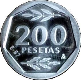 Spain 200 Pesetas (Juan Carlos I)