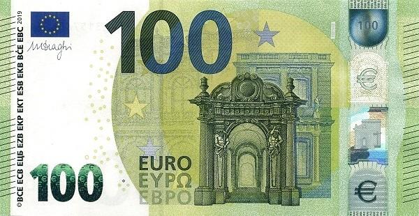 Euro 100 Euros (Second series)