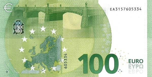 Euro 100 Euros (Second series)