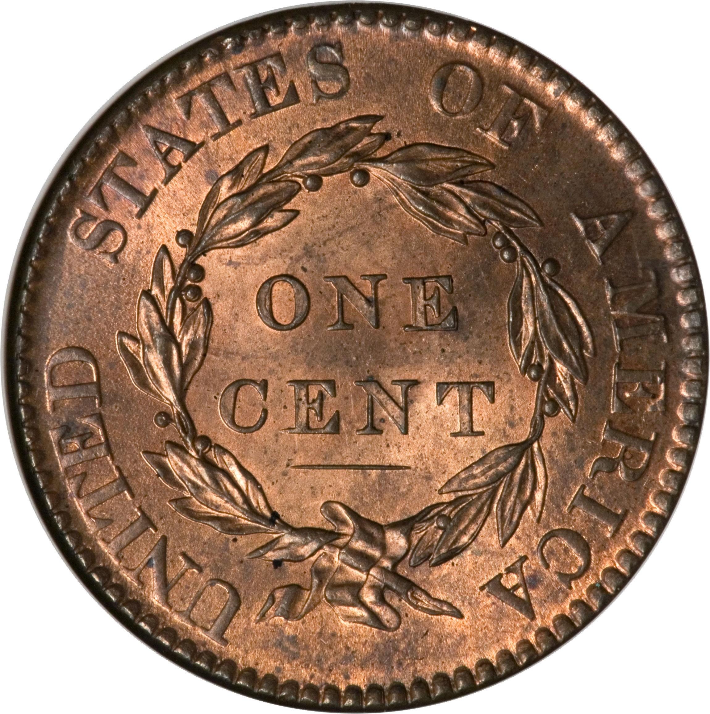 United States 1 Cent (1816-1836 Liberty Head / Matron Head)