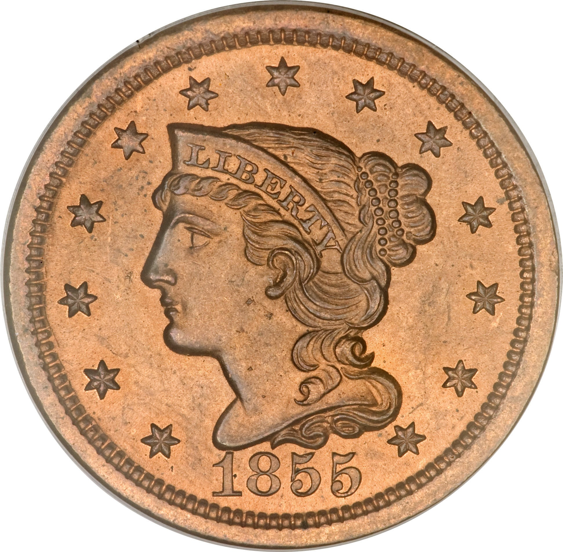 United States 1 Cent (1839-1857 Liberty Head/Braided Hair Cent)
