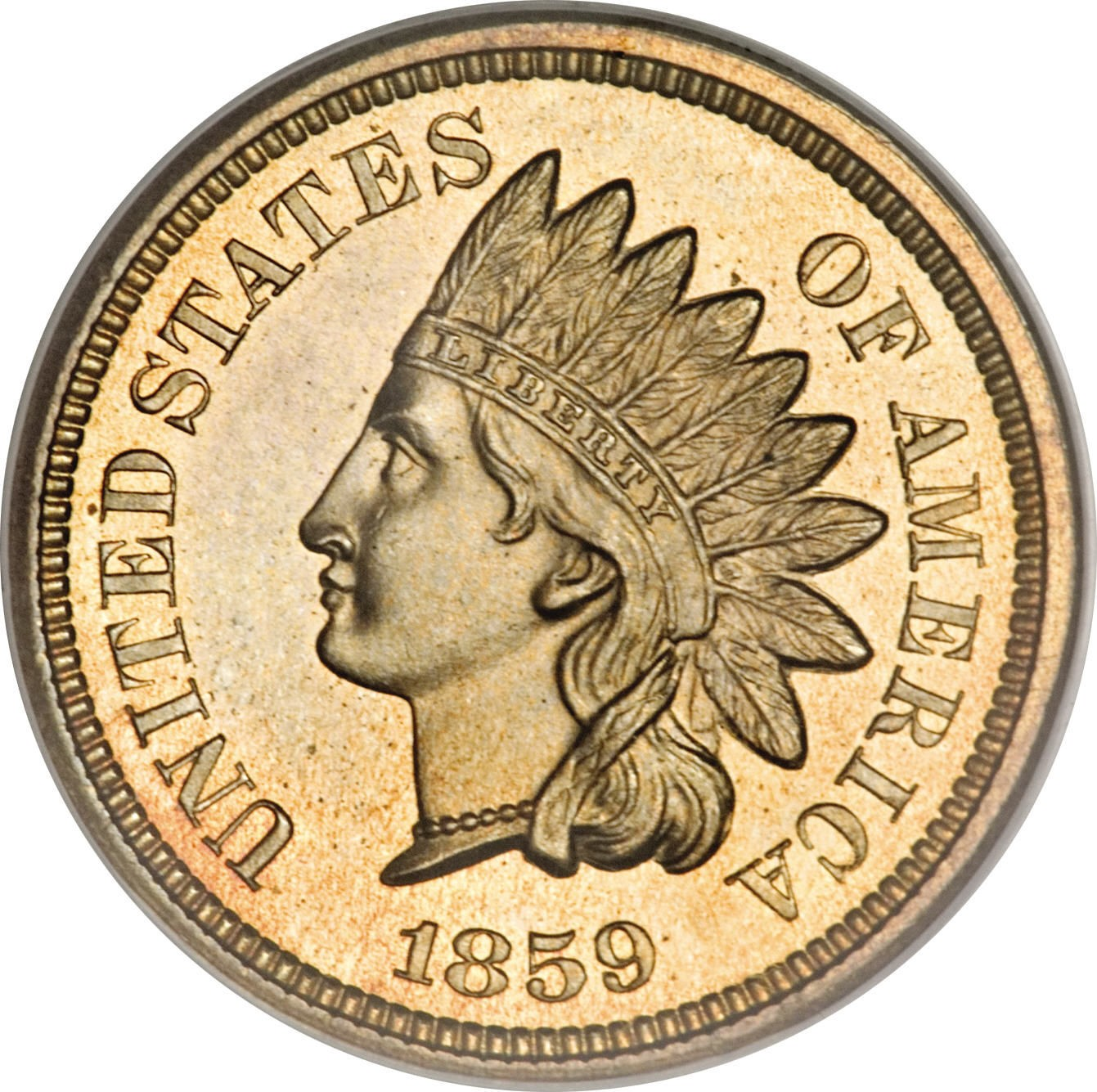 United States 1 Cent (1859 Indian Head Cent)