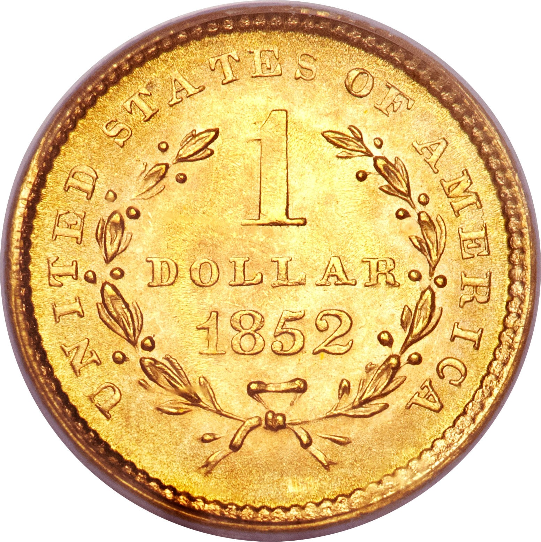United States 1 Dollar (1849-1854 Liberty Head)