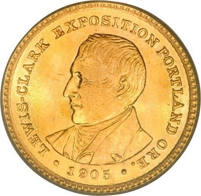 United States 1 Dollar (1904-1905 Lewis and Clark)