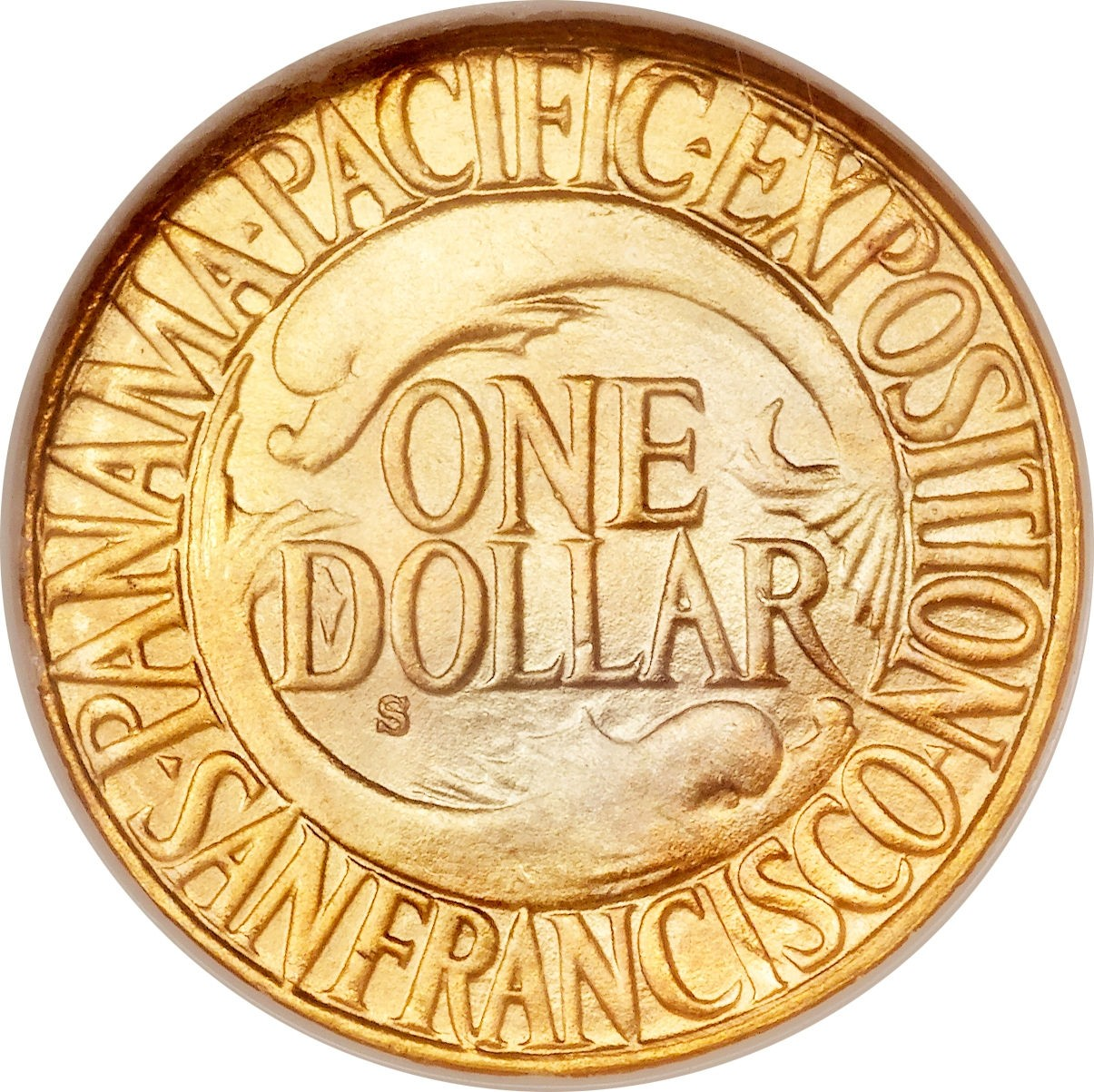 United States 1 Dollar (1915 Panama–Pacific Exposition)