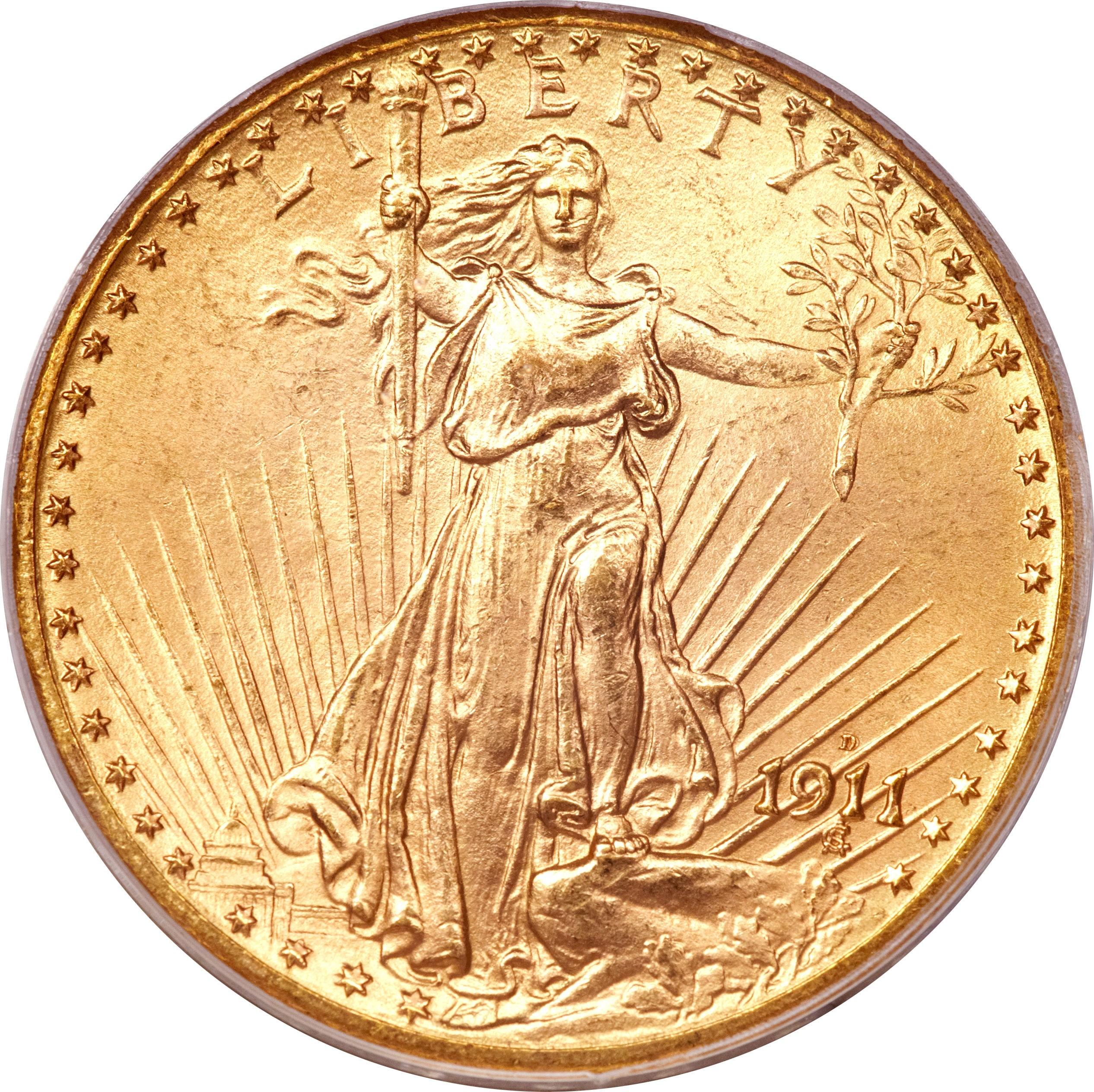 United States 20 Dollars (1908-1933 Saint-Gaudens - Double Eagle)