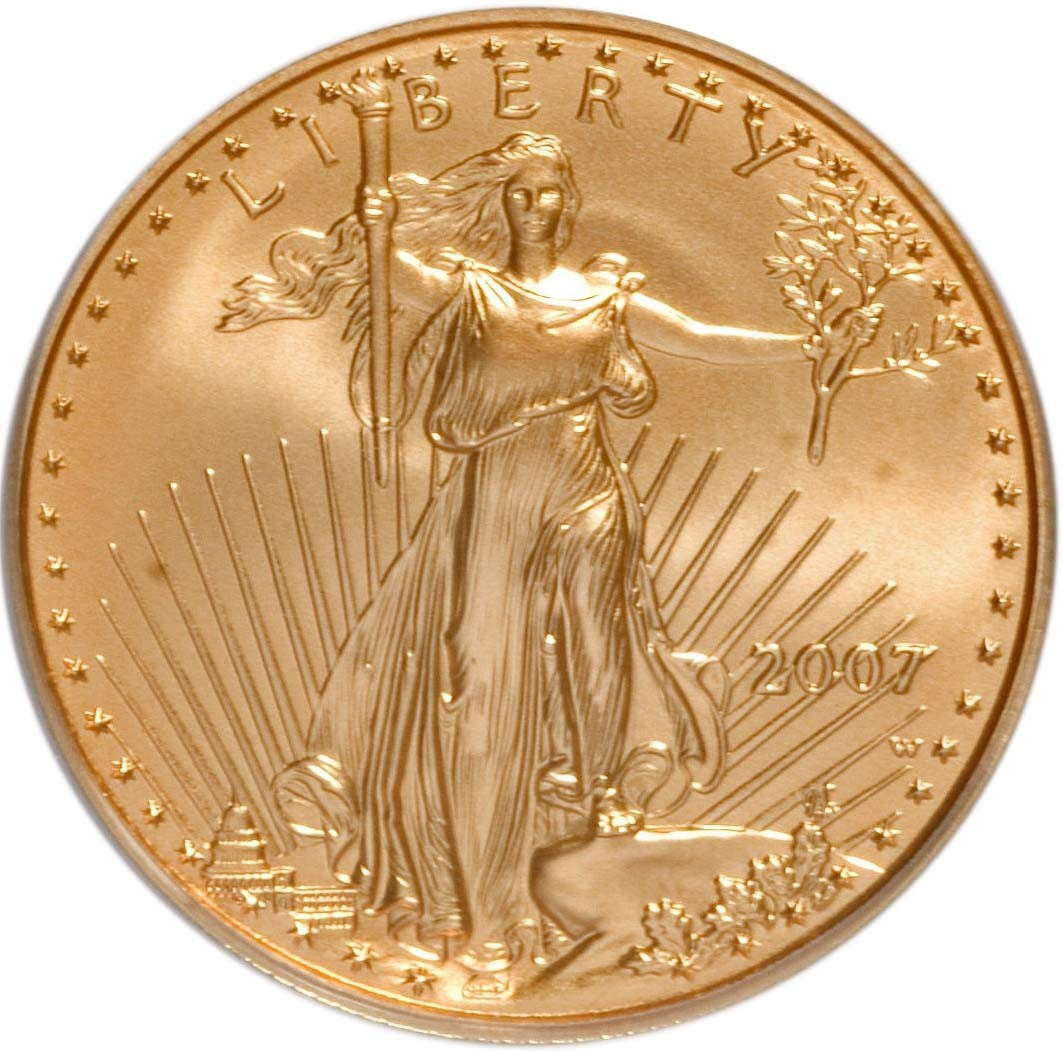 United States 25 Dollars (1986-2019 American Gold Eagle)