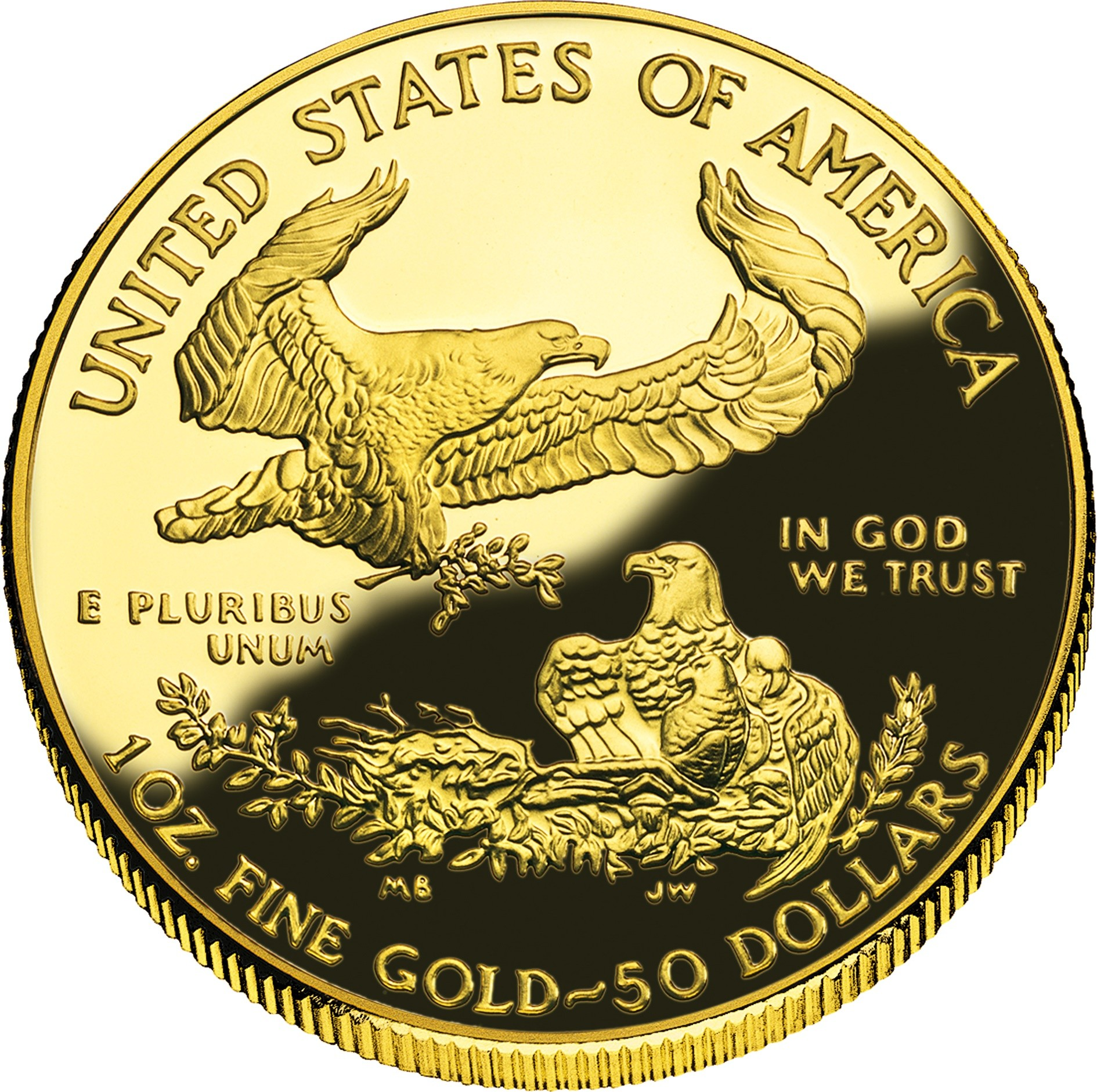 United States 50 Dollars (1986-2019 American Gold Eagle)