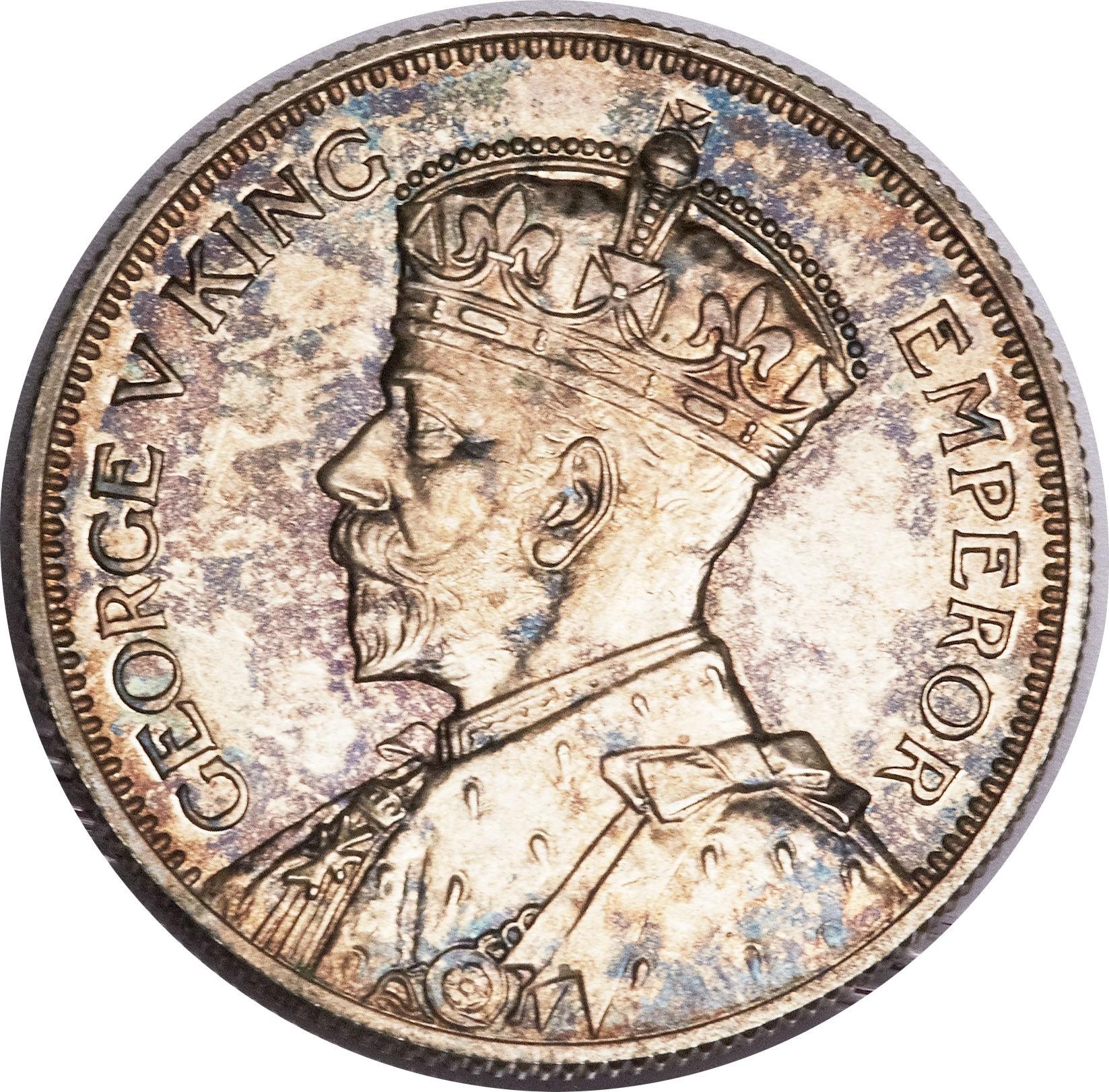 New Zealand 1 Shilling (1933-1935 George V)