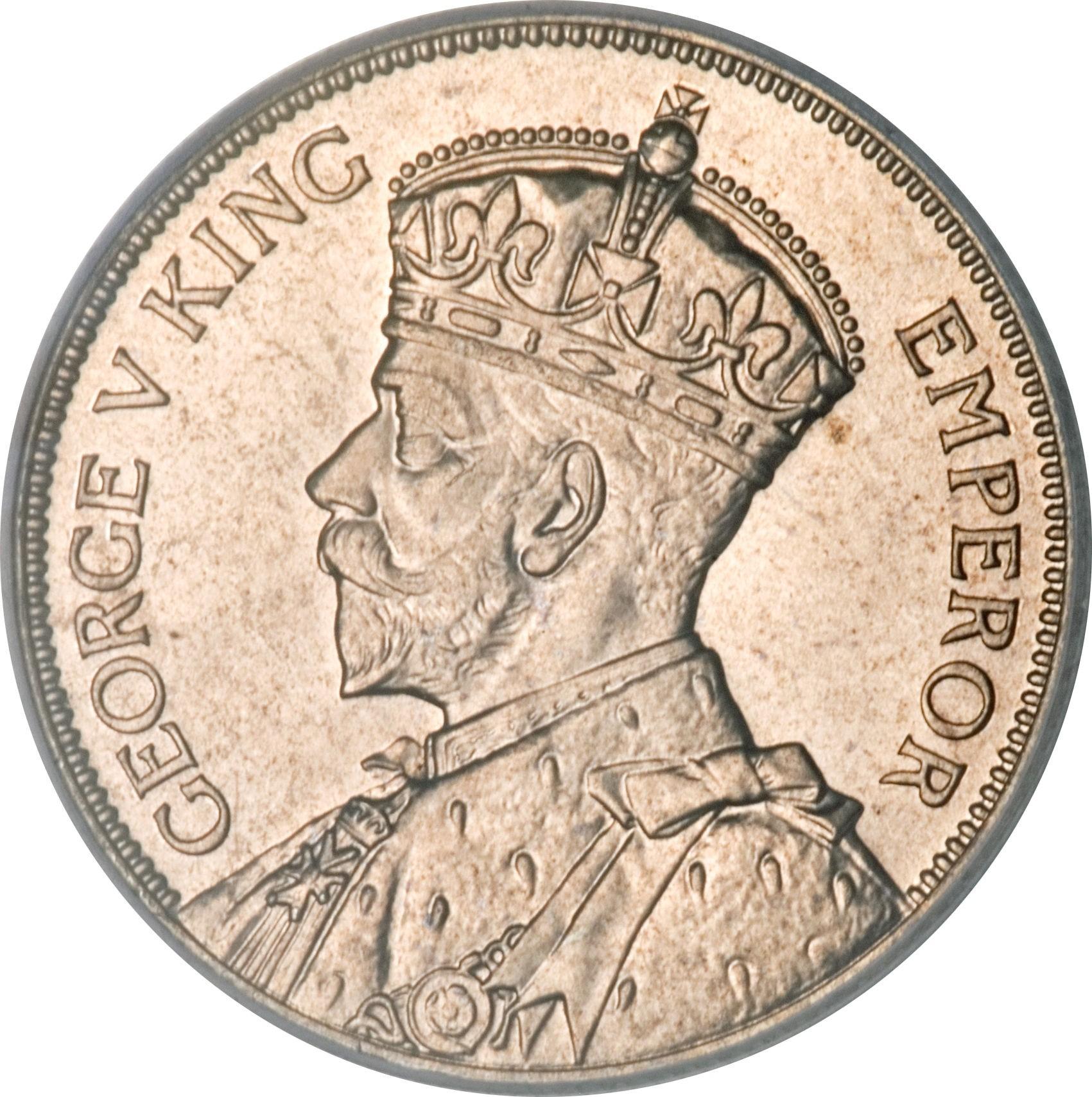 New Zealand 1 Florin (1933-1936 George V)