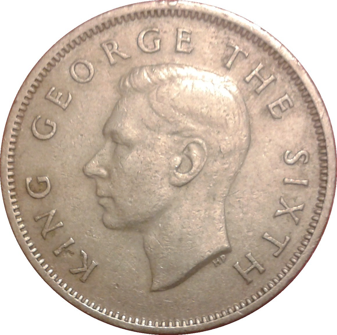 New Zealand 1 Florin (1948-1951 George VI)